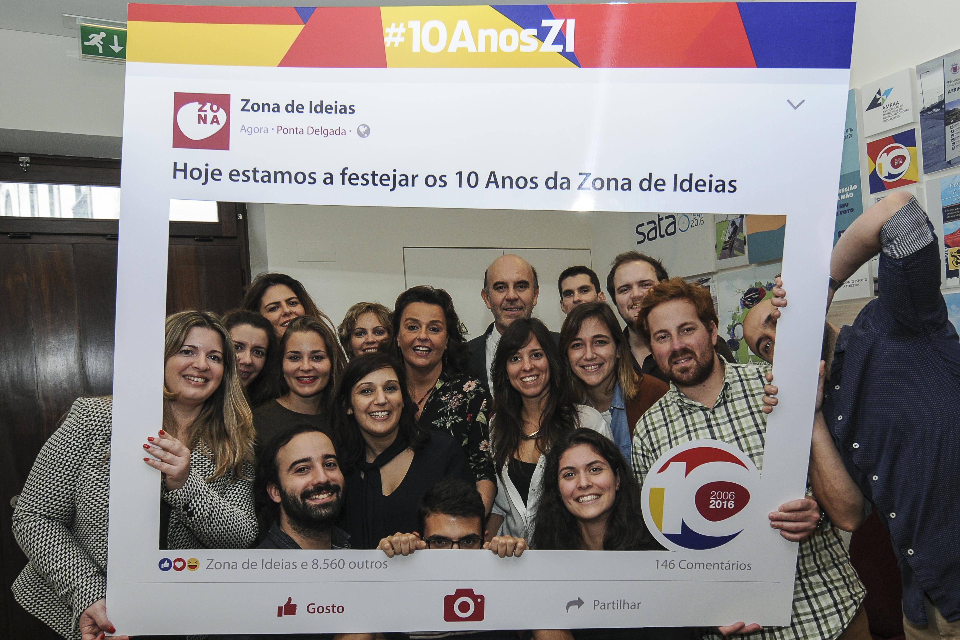 Agência de Comunicação, Imagem e Marketing – Zona de Ideias – celebrou 10 anos