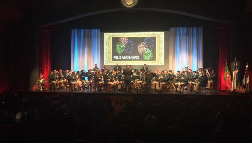 Casa cheia para ouvir a Filarmónica Nova Aliança no VI Concerto de Ano Novo (c/áudio)