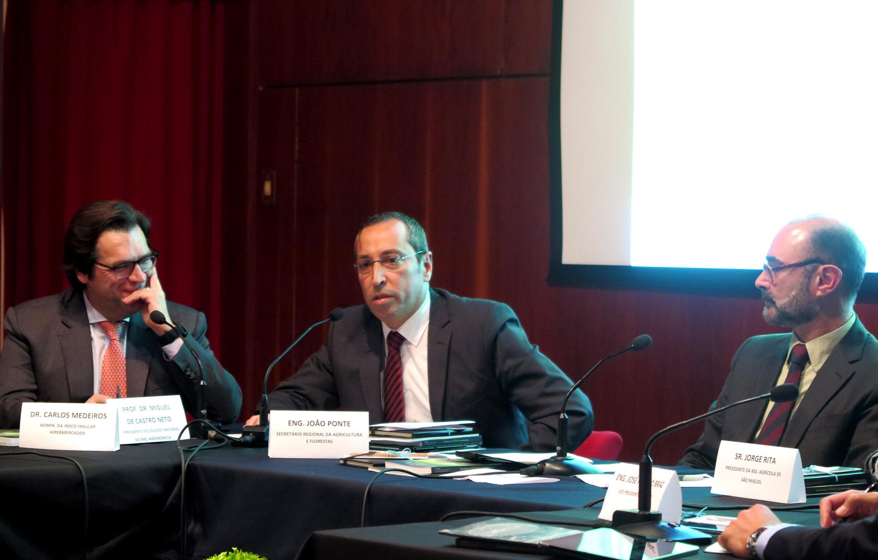 João Ponte reafirma estratégia do Governo dos Açores para o setor agrícola