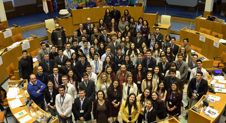 Eleitos os representantes do Círculo dos Açores para a Sessão Nacional do Parlamento dos Jovens do Ensino Secundário