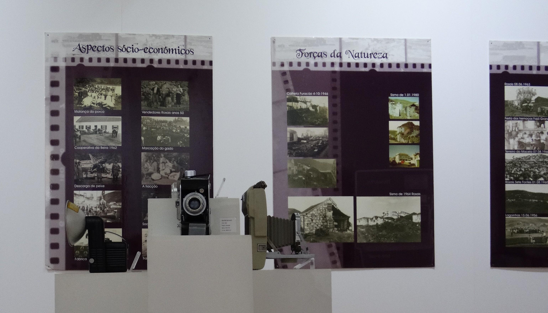 """Exposição """"Máquinas do Tempo"""" transporta visitantes numa viagem ao passado da ilha de S.Jorge e do mundo da fotografia (c/áudio)"""