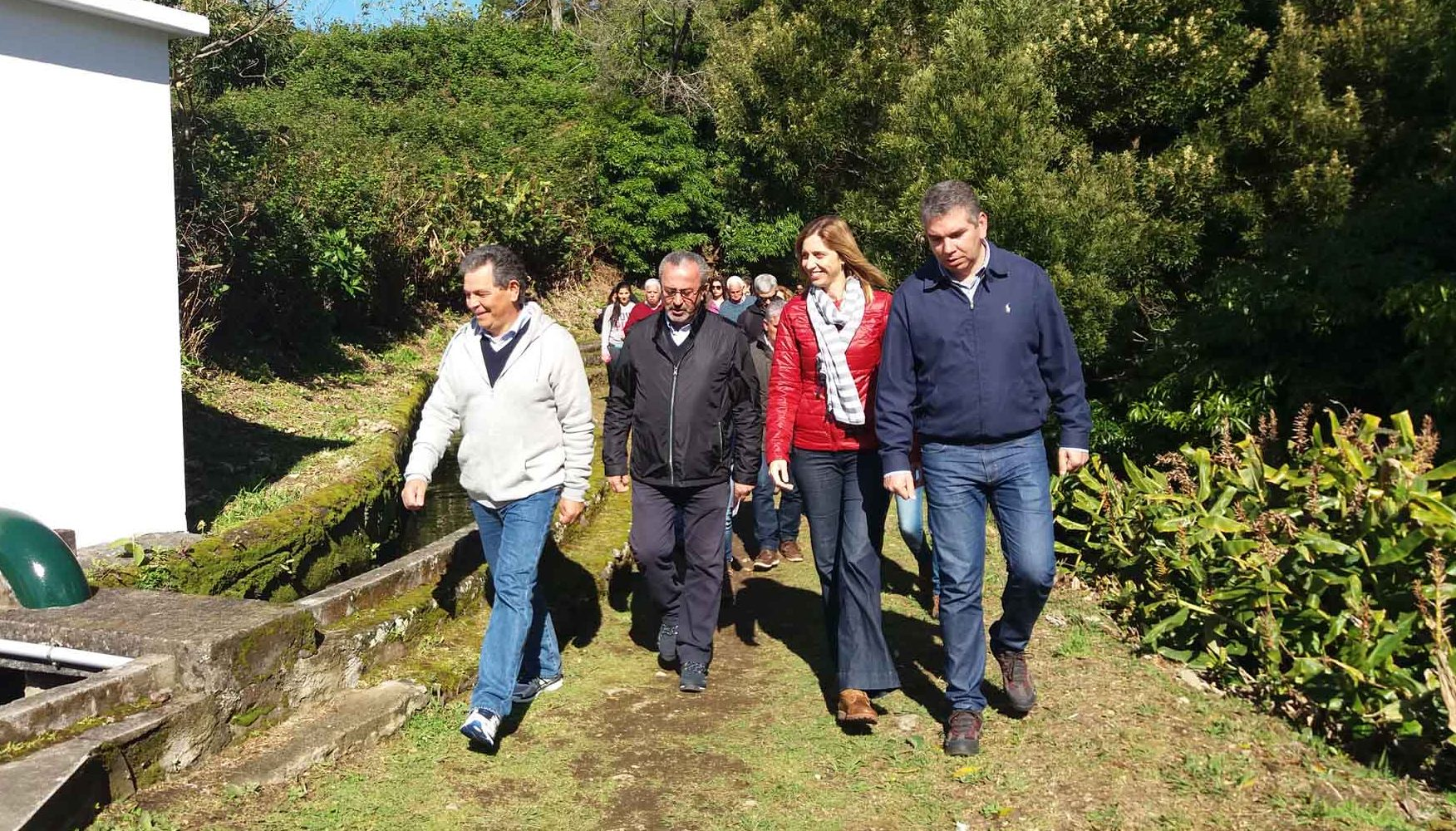Trilhos pedestres incentivam turismo de natureza ativo, afirma Marta Guerreiro