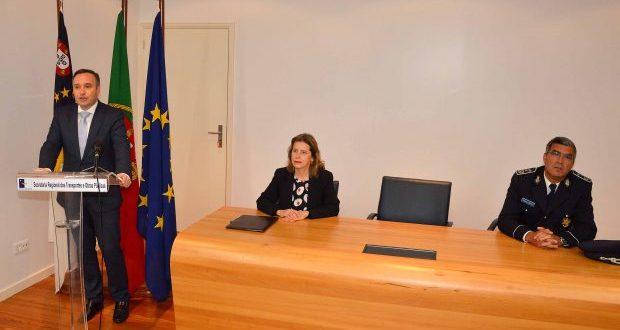 Vítor Fraga assegura que as forças de segurança podem continuar a contar com o apoio do Governo dos Açores