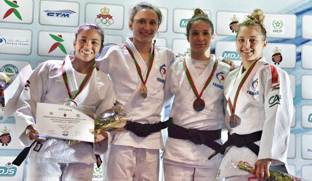 Lorrayna Costa sagra-se vice-campeã no African Open de Casablanca, em Marrocos