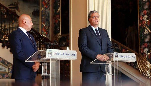 Vasco Cordeiro recebeu Presidente da Câmara Municipal da Horta