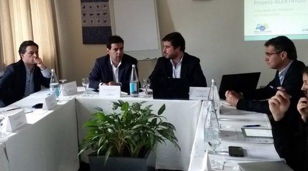 """Diretor Regional das Obras Públicas e Comunicações destaca importância do projeto """"Alert4you"""" para os Açores"""
