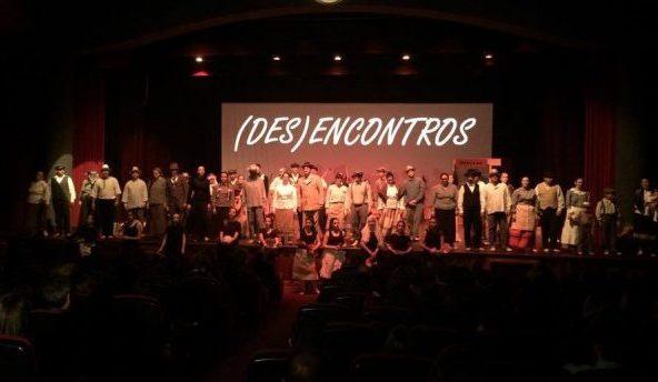 """Folclore e Dança Contemporânea revelaram-se junção improvável de sucesso no Espetáculo """"(Des)Encontros"""" (c/áudio e vídeo)"""