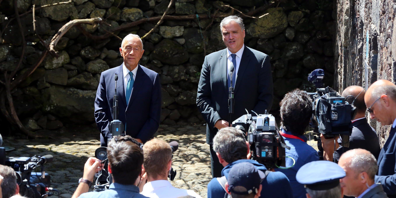 """Presidente da República termina visita à região em S.Jorge com almoço com as """"forças vivas"""" da ilha e visita à Uniqueijo na agenda"""
