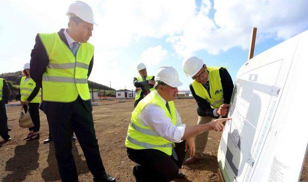 Construção dos novos matadouros da Graciosa e Faial conclui rede regional de abate, anuncia Vasco Cordeiro