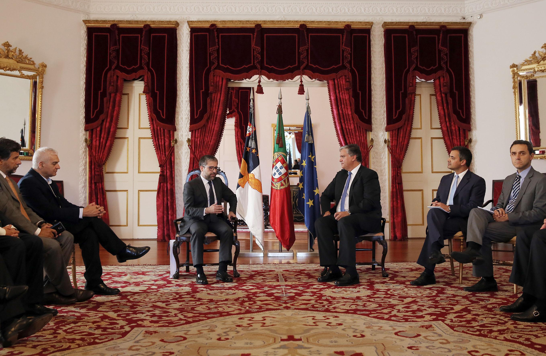 Presidente do Governo recebeu Comissão de Defesa Nacional da Assembleia da República