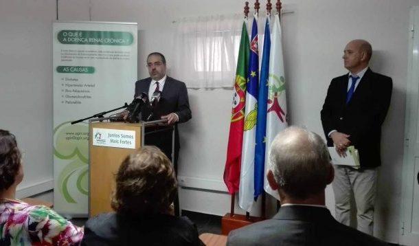 Delegação da Associação Portuguesa de Insuficientes Renais deve apoiar doentes de toda a Região, defende Rui Luís
