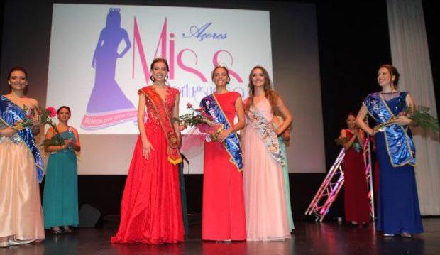 Maria Pereira, natural da Praia da Vitória, eleita Miss Portuguesa Açores – Jovem vai, em conjunto com Inês Bettencourt, 1ªDama de Honor, representar a região no concurso nacional