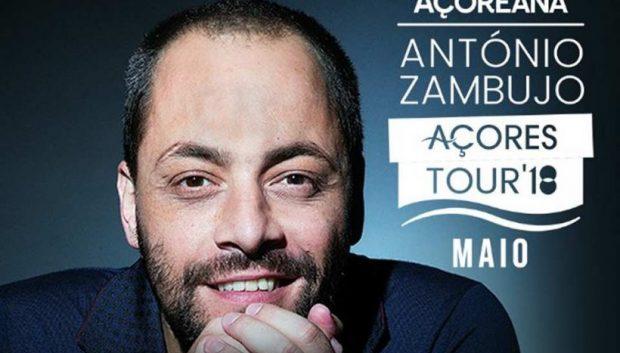 Bilheteira já está aberta – António Zambujo dá dois concertos nas Velas a 11 de maio