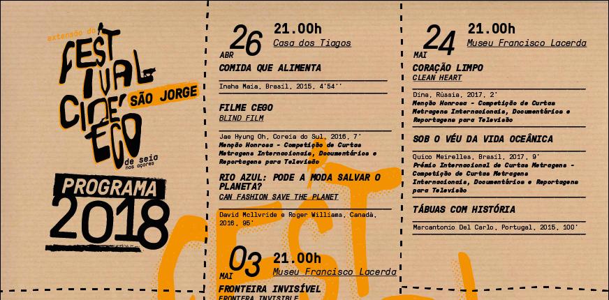Festival Cine'Eco de Seia chega pela primeira vez a S.Jorge e pretende consciencializar para a temática ambiental (c/áudio)