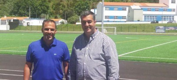 Presidente da AFAH reúne em S.Jorge com clubes da ilha e com o Presidente do Município das Velas