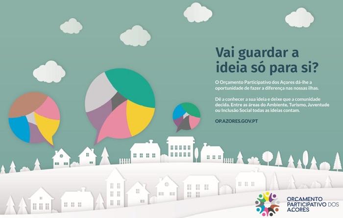 Governo Regional reforça para um milhão de euros as verbas do Orçamento Participativo dos Açores e alarga áreas temáticas para cinco