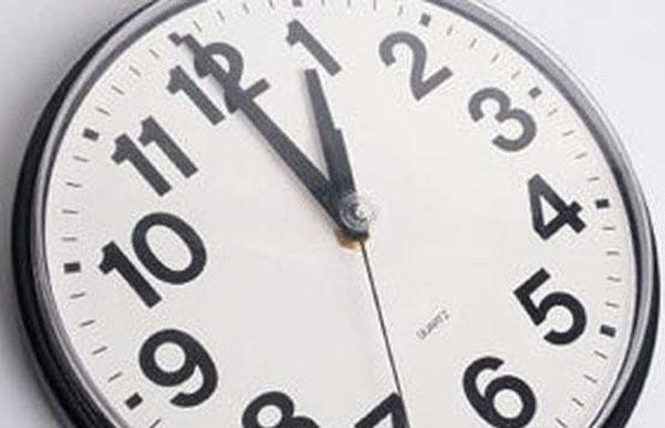 Horário de Inverno (relógios atrasam uma hora)