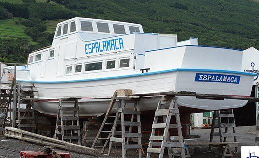 """Governo dos Açores classifica lancha """"Espalamaca"""" como bem móvel de interesse público"""