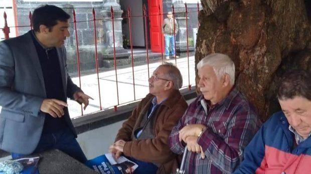 Conserveira Santa Catarina e Queijo de São Jorge no centro das preocupações de Miguel Viegas, eurodeputado do PCP que esteve de visita à ilha de S.Jorge (c/áudio)