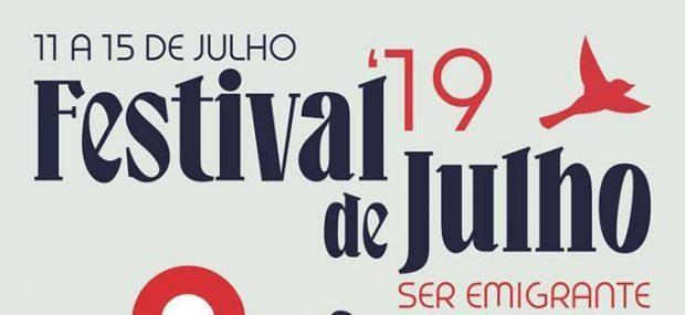 Frankie Chavez, Anjos e David Fonseca são os cabeças de cartaz do Festival de Julho