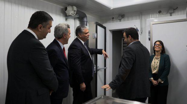 Presidente do Governo inicia visita a São Jorge com inauguração do novo entreposto frigorífico da ilha
