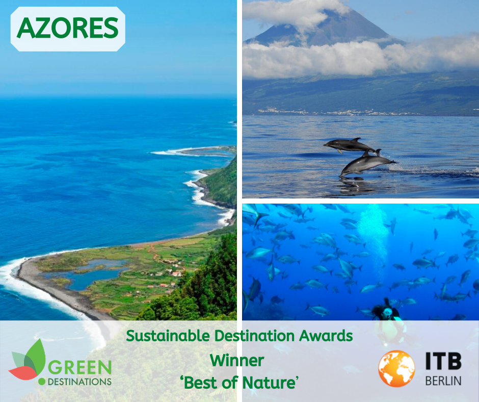 "Açores vencem categoria ""Best of Nature"" nos Sustainable Destination Awards"