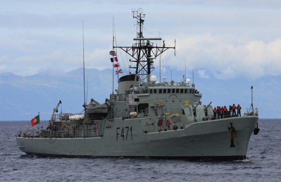 Resgate de tripulante de navio mercante nos Açores
