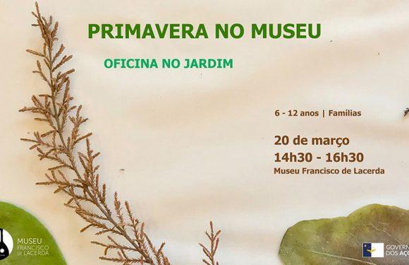"Museu Francisco de Lacerda promove oficina ""Primavera no Jardim"""