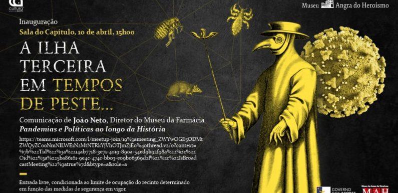 """Museu de Angra do Heroísmo inaugura mostra """"A Ilha Terceira em Tempos de Peste"""""""