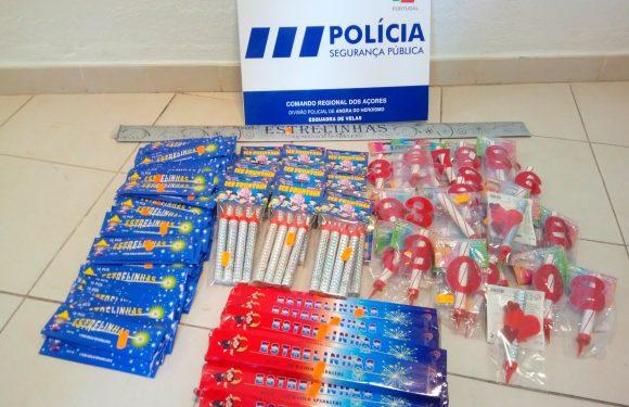 Apreensão de 142 artigos de pirotecnia na ilha de São Jorge