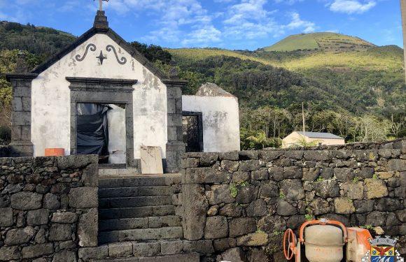 Reabilitação da Ermida de São Vicente – Queimada Concelho das Velas