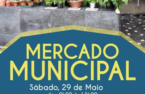 Mercado Municipal abre portas sábado dia 29 de Maio