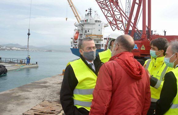 Secretário dos Transportes Turismo e Energia visita a Ilha de São Jorge