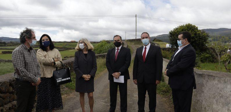 António Ventura anuncia forte investimento na beneficiação de caminhos agrícolas dos Açores