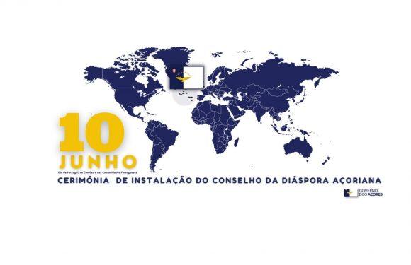 Instalação do Conselho da Diáspora Açoriana decorre a 10 de junho, Dia de Portugal