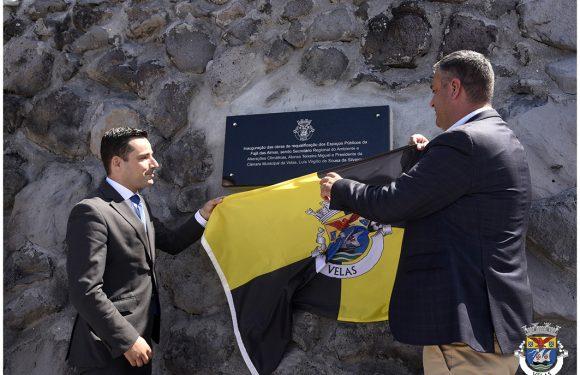 Inauguração das Obras de Requalificação dos Espaços Públicos na Fajã das Almas