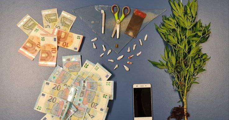 Detenção por tráfico de estupefacientes na ilha de São Miguel