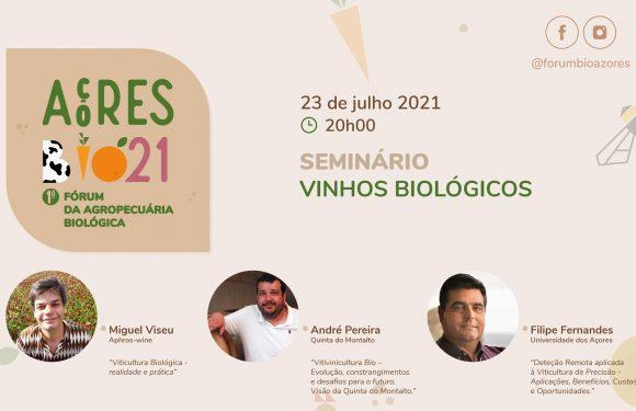 """Governo dos Açores promove Seminário de vinhos biológicos e """"showcooking"""" bio na Ilha do Pico"""