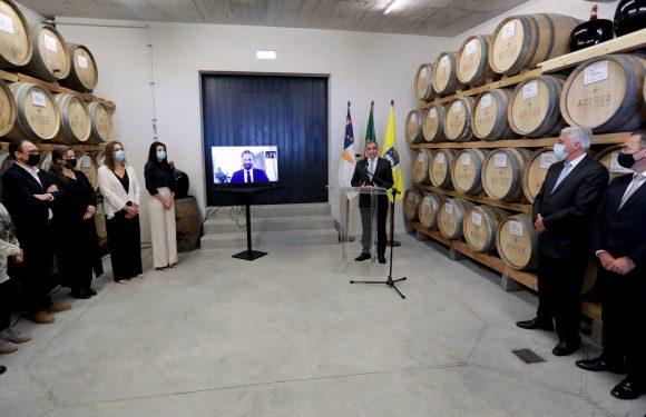 Presidente do Governo saúda Azores Wine Company por inauguração de adega no Pico