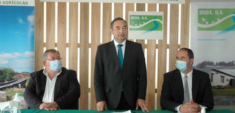 """Investimentos de quase oito milhões de euros em explorações agrícolas vão permitir """"reduzir custos de produção"""" garante António Ventura"""