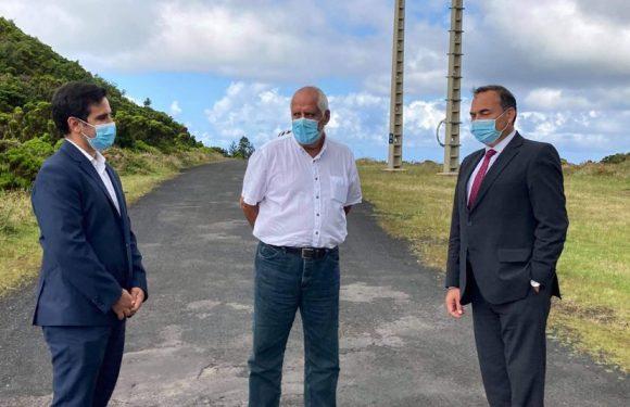 Requalificação de caminhos florestais, como o do Mistério de Santa Luzia, é prioridade do Governo dos Açores, defende António Ventura