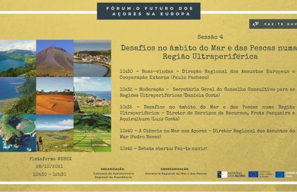 Governo Regional dos Açores debate desafios do mar, das pescas e da agricultura numa Região Ultraperiférica