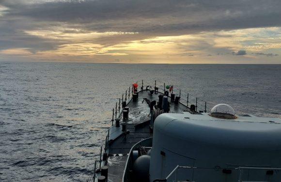 Exercício AÇOR 21 está a decorrer na Ilha de São Jorge e do Faial